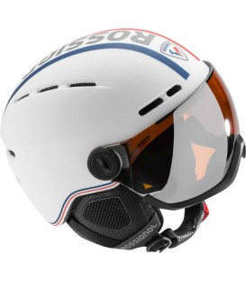 VISOR - SINGLE LENS - WHITE